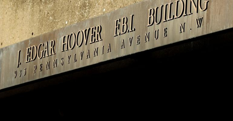 The FBI's Edgar J. Hoover Building in Washington, DC., 2017