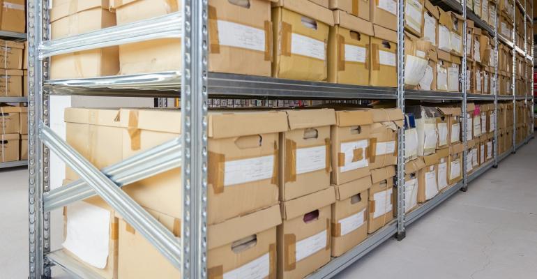 files stored in bins