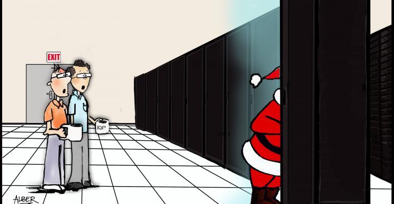 friday funny santa