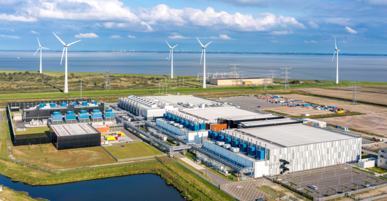 Google's data center campus in Eemshaven, Netherlands