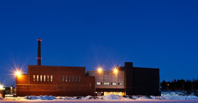 Google data center in Hamina, Finland