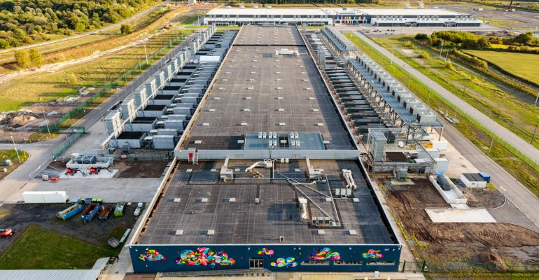 Google's data center in St. Ghislain, Belgium