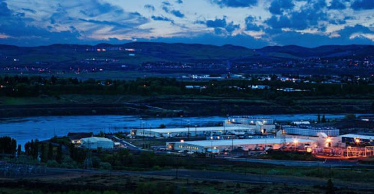 Google's data center campus in The Dalles, Oregon