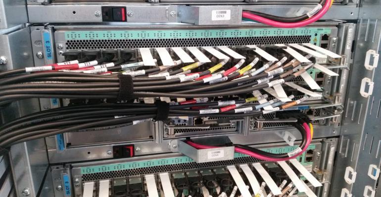 Google's custom data center switch Jupiter