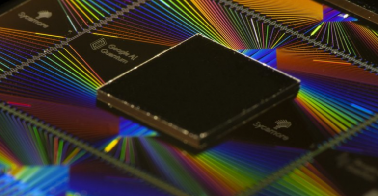 Google's Sycamore chip for quantum computing