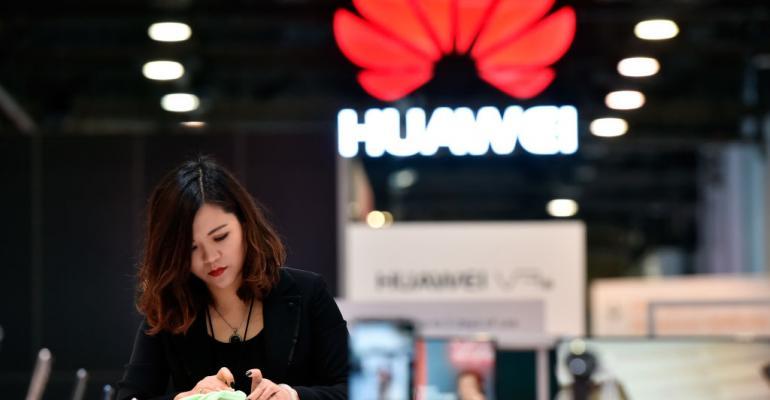 Huawei at CES 2018 in Las Vegas