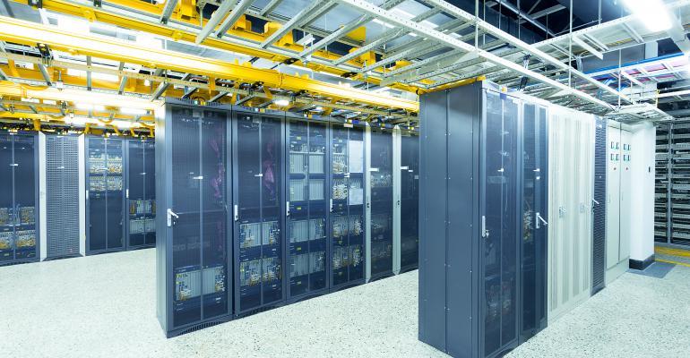 data center view