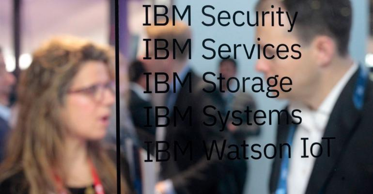 IBM stand at Mobile World Congress 2018 in Barcelona