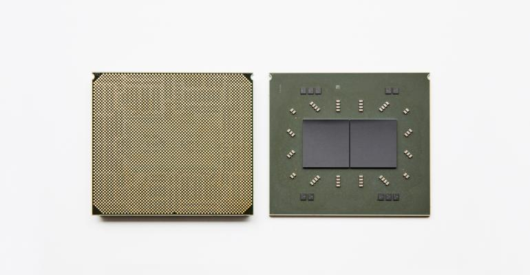 IBM Telum processor's dual-chip module design contains 22 billion transistors and 19 miles of wire on 17 metal layers.