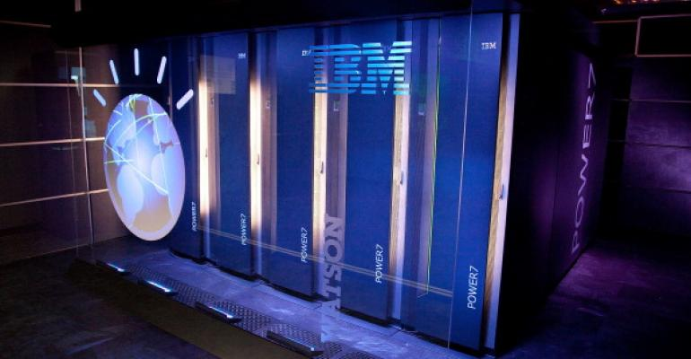 IBM Watson supercomputer seen in 2011