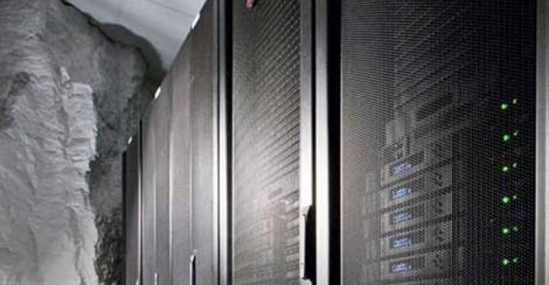 Inside Iron Mountain's cavern data center outside of Pittsburgh
