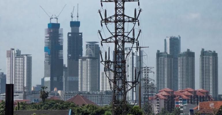 Downtown Jakarta, June 2020
