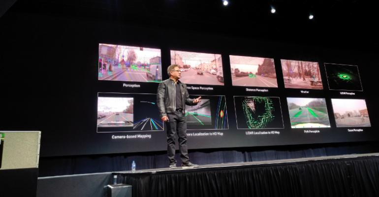 Jensen Huang, founder and CEO, Nvidia, speaking at GTC Summit 2018