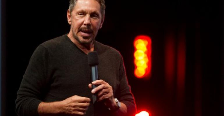 Larry Ellison, CTO and chairman, Oracle