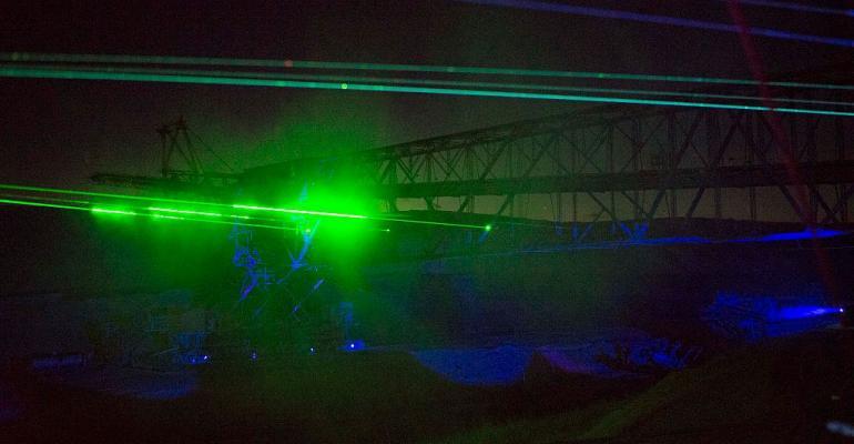 Laser beams