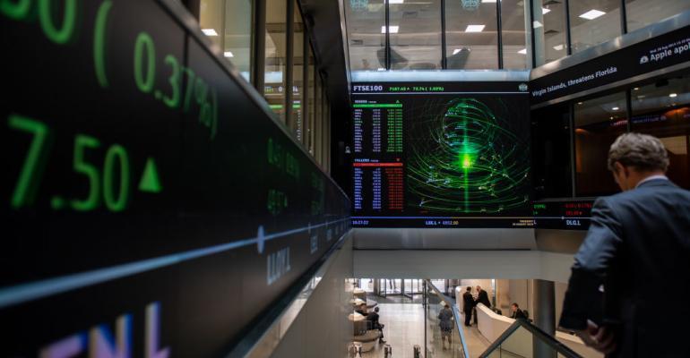 London Stock Exchange main entrance