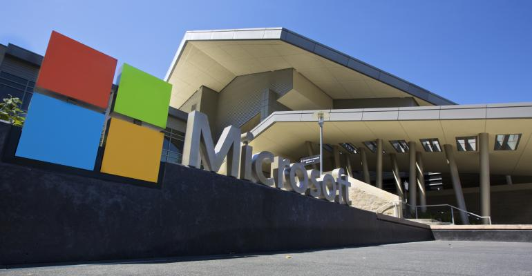 Microsoft campus in Redmond, Washington