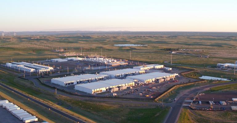Microsoft data center in Cheyenne, Wyoming