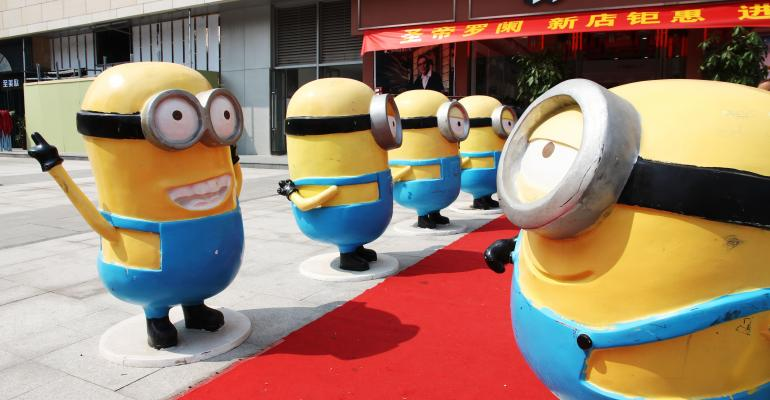 Minions in China