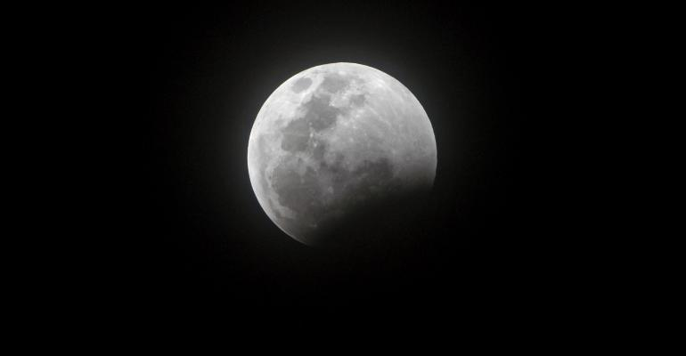 solar eclipse of the moon