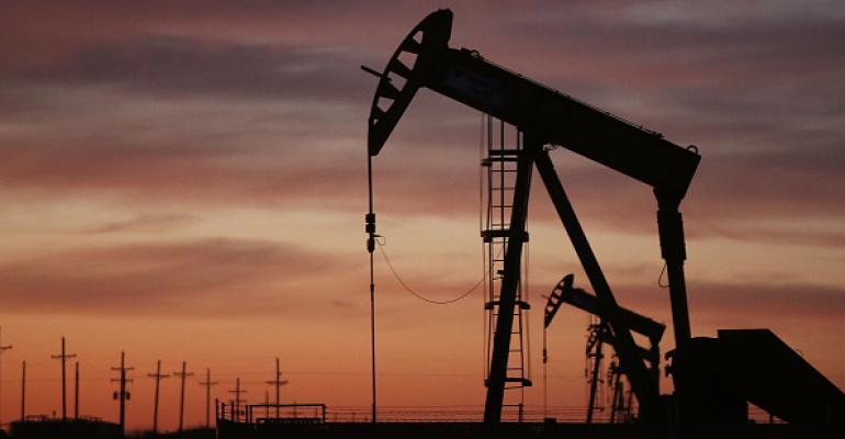 An oil pumpjack