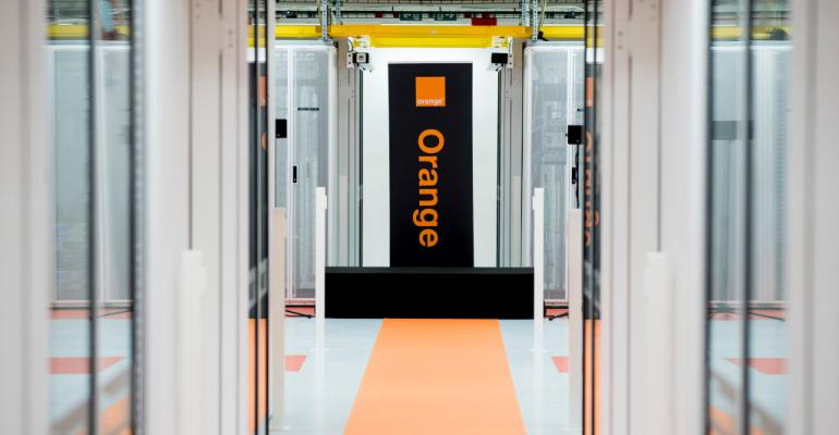 Orange data center in Antwerp, launched in 2019