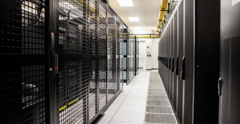 Inside QTS's data center in Richmond, Virginia