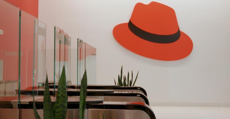 red hat main lobby