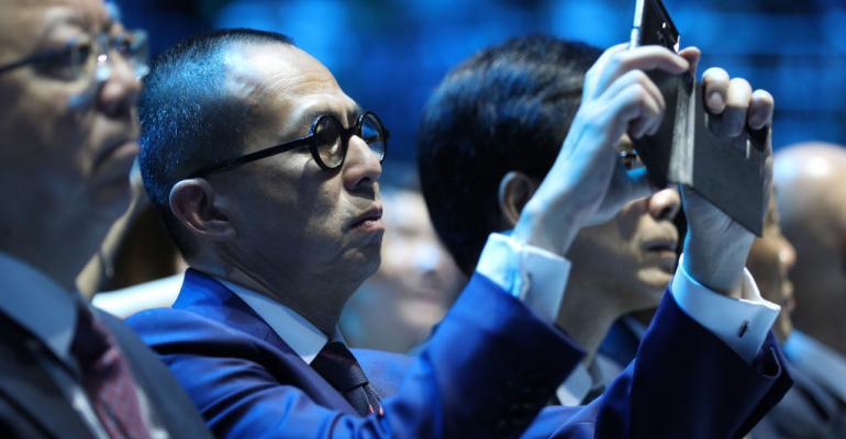 Richard Li Tzar Kai, son of Chinese entrepreneur, Billionaire Li Ka-shing, attends the graduation ceremony of Shantou University on June 27, 2017 in Shantou, China.