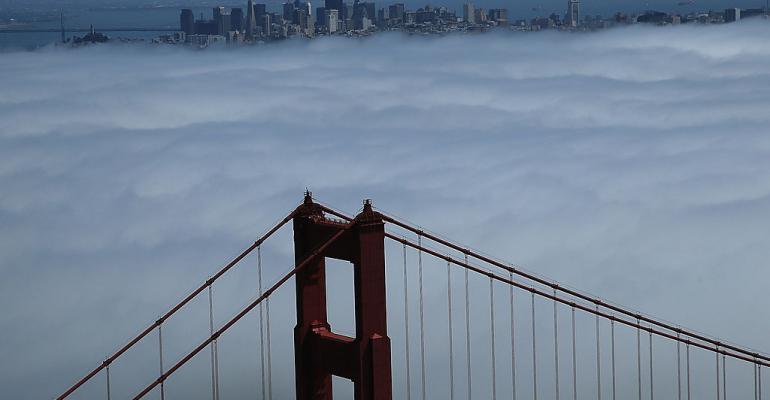 Aerial Views Of San Francisco