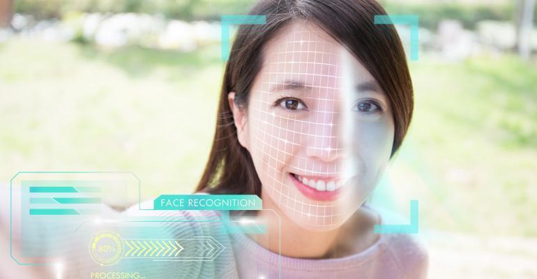 Smartphone biometrics facial recognition