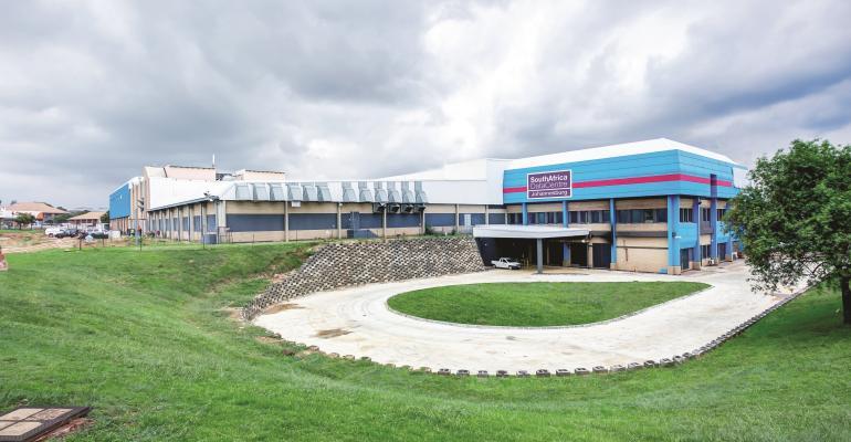The Johannesburg data center of Africa Data Centres, a Liquid Telecom business.
