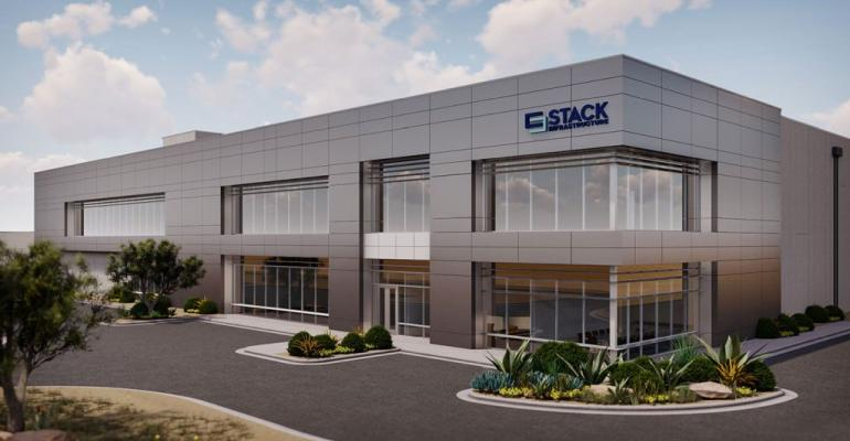 Rendering of Stack's future 150MW data center in Avondale, Arizona