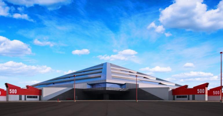 Switch's pyramid data center campus outside of Grand Rapids, Michigan
