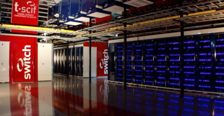 Inside a Switch data center