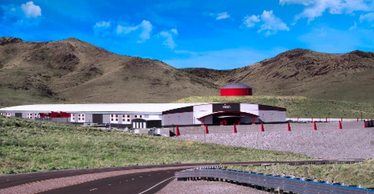 Switch Tahoe Reno 1 data center outside of Reno, Nevada