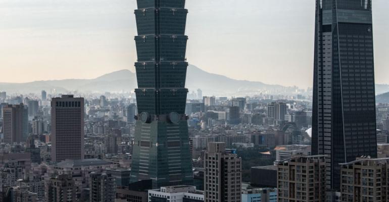Taipei skyline, 2020