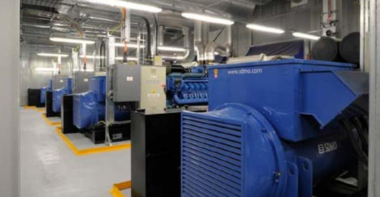 Data center generators