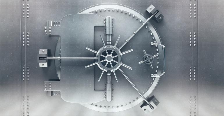closed vault