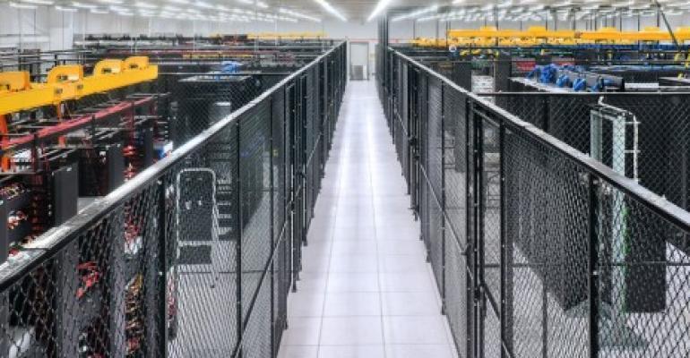 ViaWest's Arapahoe data center in Denver area.