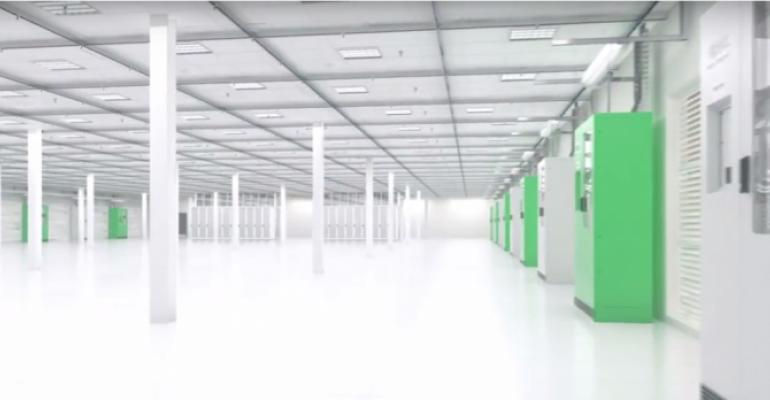 Inside a Virtus data center (rendering)