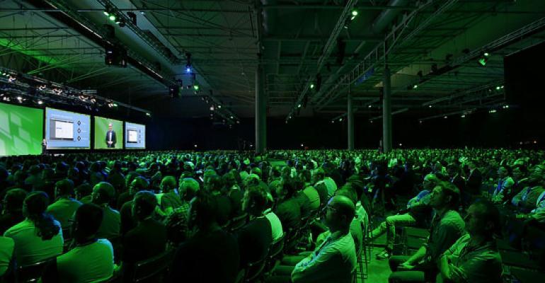 VMworld 2016 keynote audience