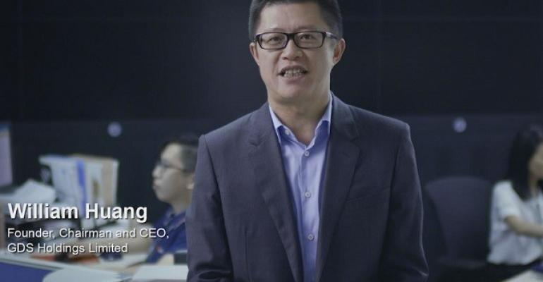 William Huang, GDS founder, chairman, and CEO