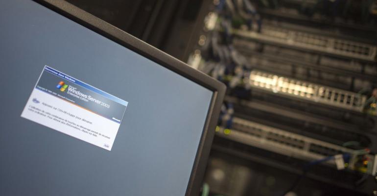 Windows Server 2003 running in a data center