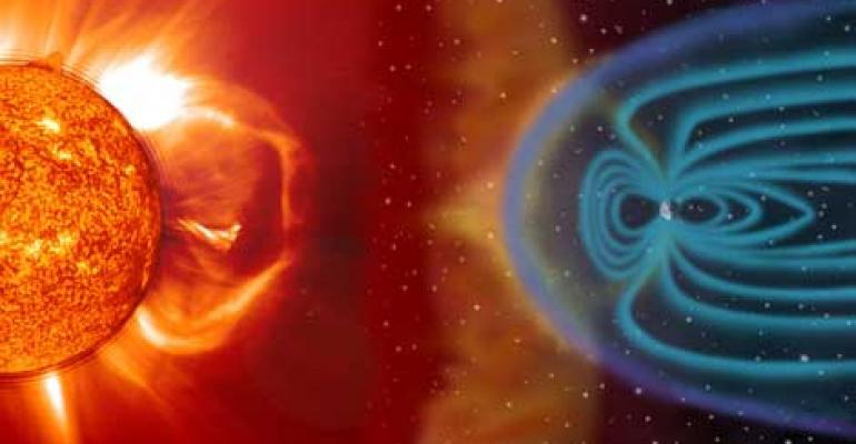 Space Weather and the Data Center: The Risk from Solar Storms