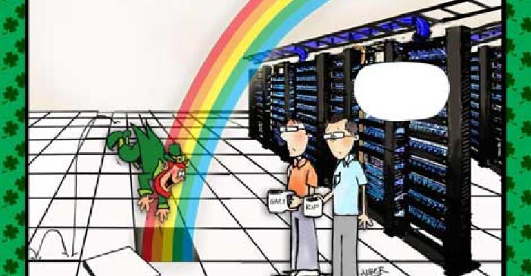 Friday Funny: 'Lucky' Cartoon Caption Contest