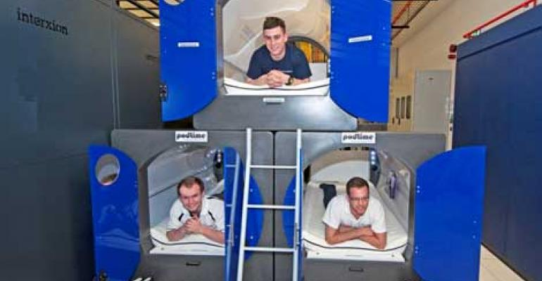 Interxion Readies Staff 'Sleeping Pods' for Olympics