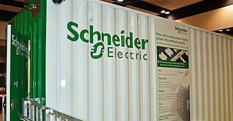Schneider Electric Announces Prefab Data Centers Up To 2 Megawatts