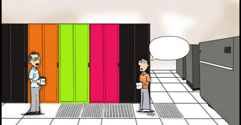 Friday Funny: Neon Cabinets Cartoon