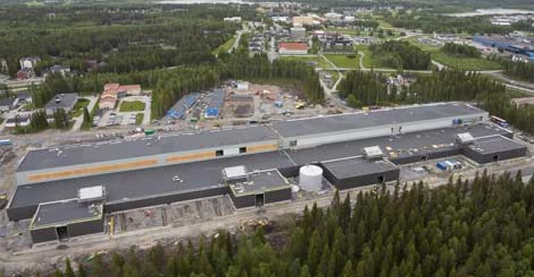 A Hyper-Scale Cloud Data Center, Seen From the Clouds